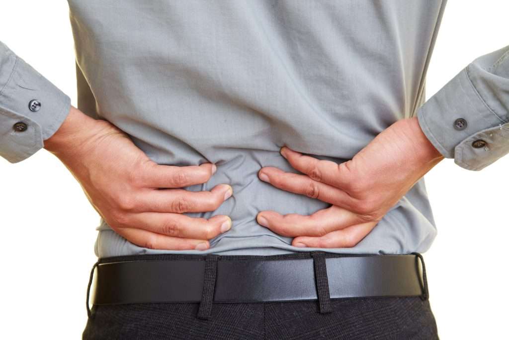 Back Pain 1024x683 - Arkansas Workers' Compensation Lawyer for Truck Drivers