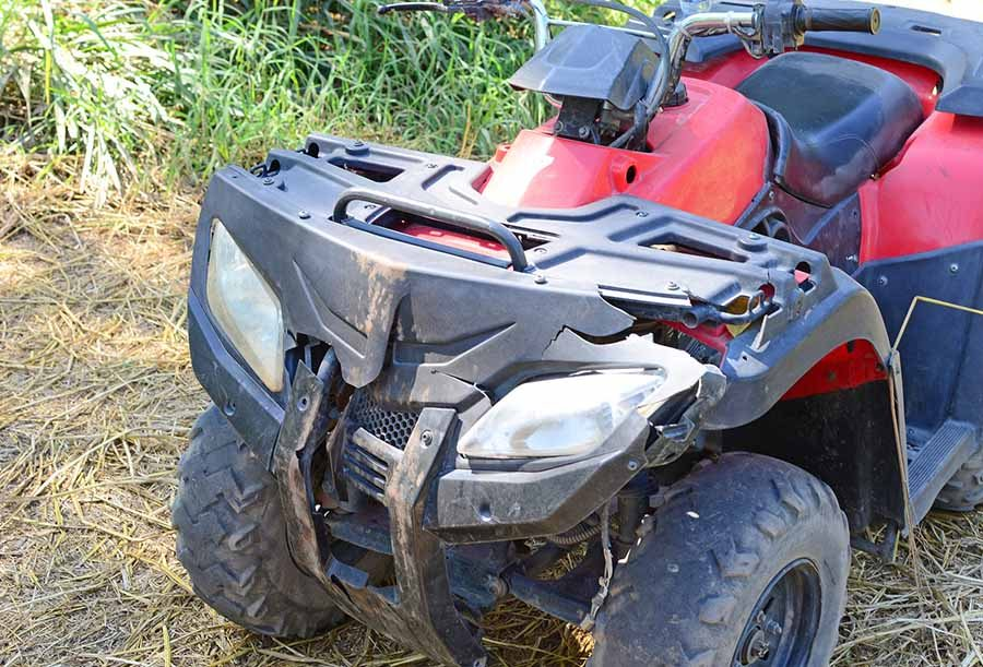 bigstock Crashed Atv 60875207 - Fort Smith, AR ATV Accident Attorney