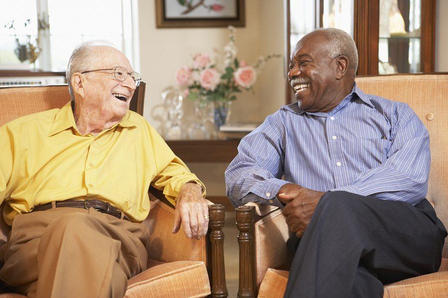 bigstock Senior men relaxing in armchai 13894643 - Bentonville, AR Nursing Home Abuse Attorney